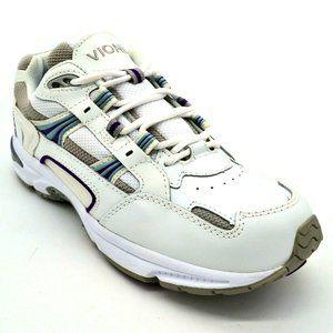 Vionic Womens Walker Leather Walking Sneaker NEW
